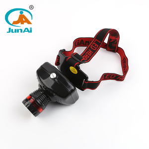 1 year warranty rechargeable led headlamp for camping, hiking and repairing Model no. JA-1911