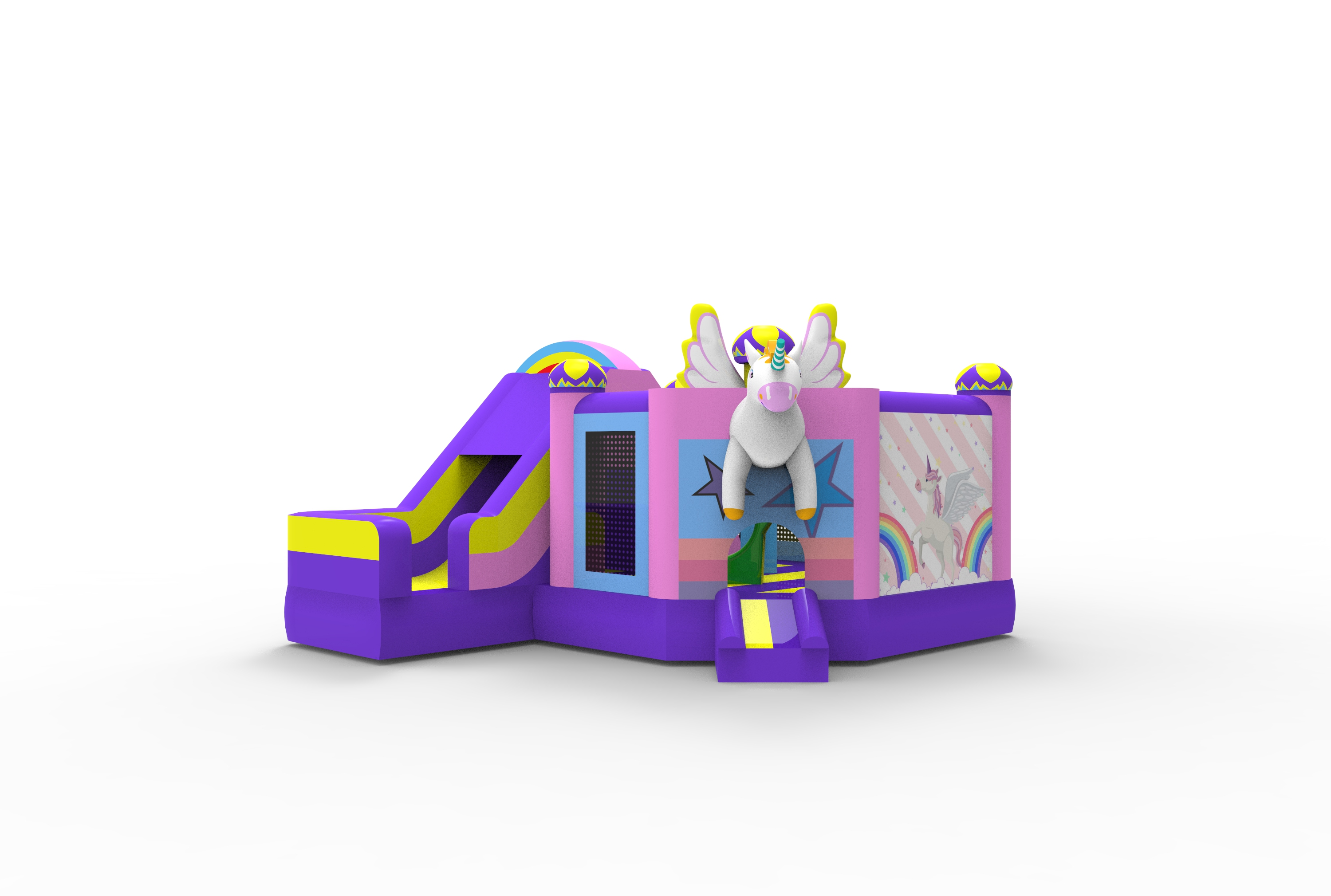 Inflatable bouncer castle commercial playground park cheerful hop bouncy jumping castle for sale