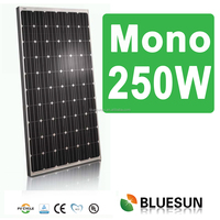 High quality best price sunrise mono 250w pv solar panels