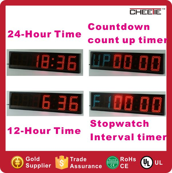 GYM Use 6 Digit Interval Crossfit Timer Multifunctional Australia Digital Timer