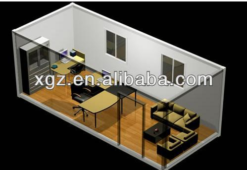 20ft Container House Office for Construction Site
