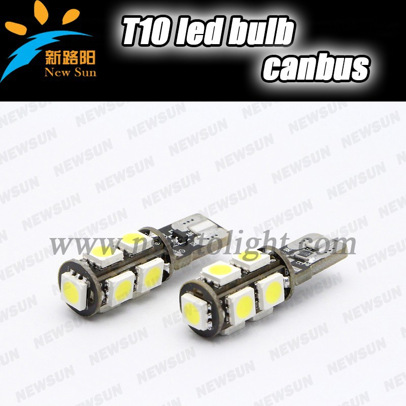 SMD 5050 12v 180lm T10 5W5 Car LED Auto Bulb For Car Canbus Free