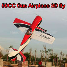 rc airplane model 50cc gas powered toy airplane slick 540 50CC oem manufacturer