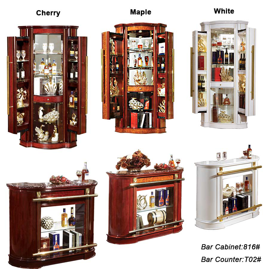 Muebles de sala con minibar 20170809200515 for Mini bar de salon