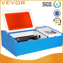co2 laser engraving machine 40W USB crystal glass tube cutting machine
