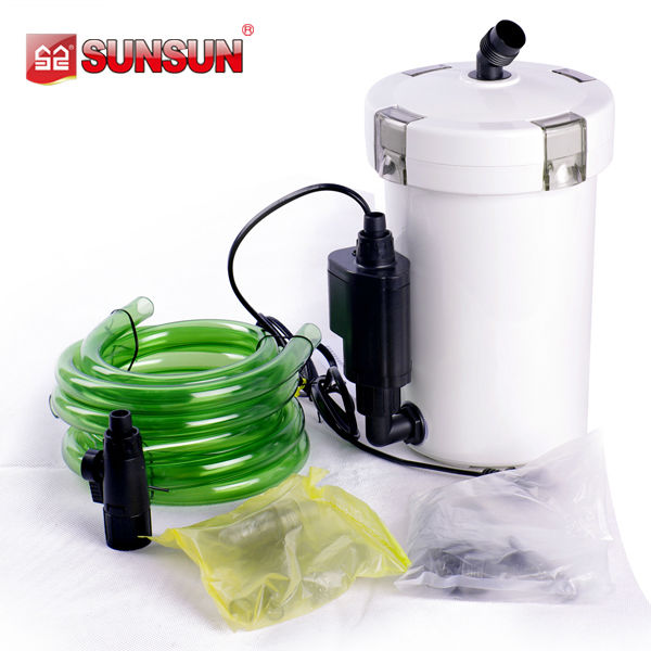SUNSUN extermal aquarium filter with pump motor for fish tank filter