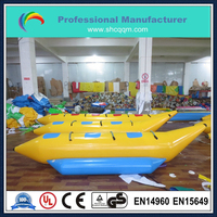 inflatable water sports game,inflatable banana boat for sale