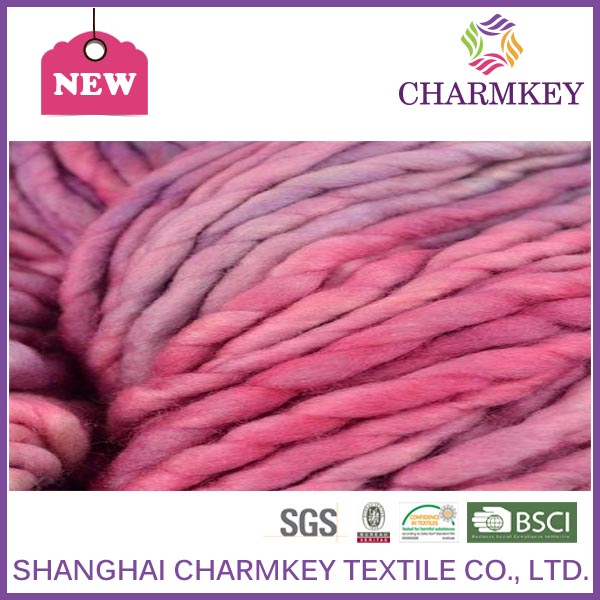 Natural dyed wool weaving yarn for fancy wool coat knitting