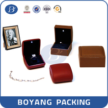 factory produced jewelry packaging boxes with velvet lining