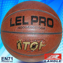 rubber and pvc pu leather no logo or brand name basketball