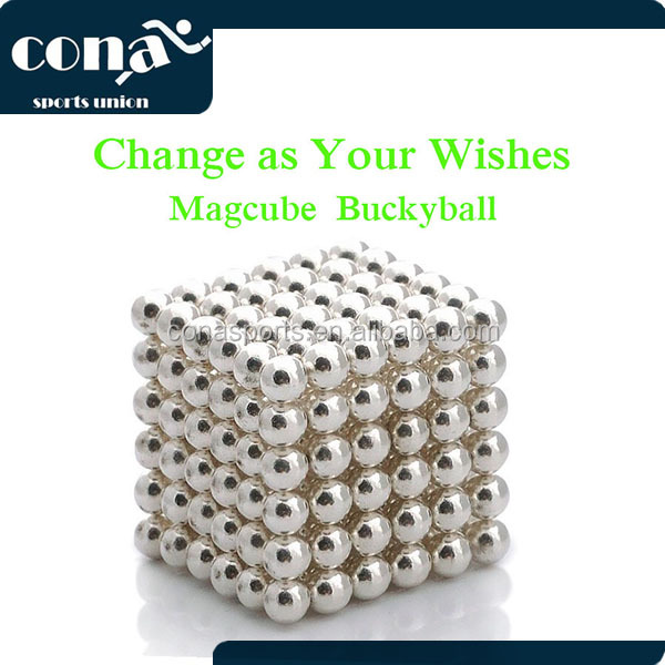 2017 New Products Magnetic 5mm 216 Magnetic Neodym Magnet Ball Magnetic Sculpture for Stress Release
