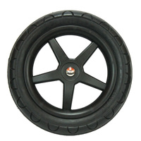 factory PU solid small wheel for carts
