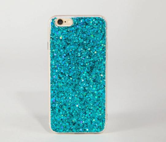 New design custom mobile sequins glitter phone cover for iphone 6 7 case tpu