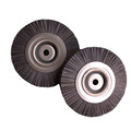 2017 hot sale nylon abrasive wire brush roller with shaft from china