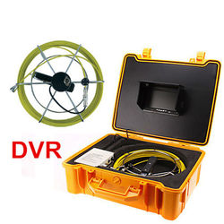 20M cable video sewer pipe inspection system with DVR video recording 12pcs LED light pipeline snake camera endoscope camera