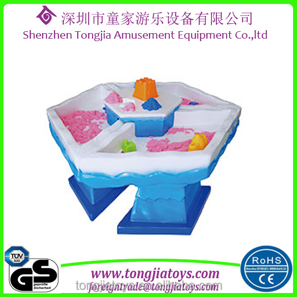 reliable and good children sand art table sand play equipment in shopping mall or kindergarten