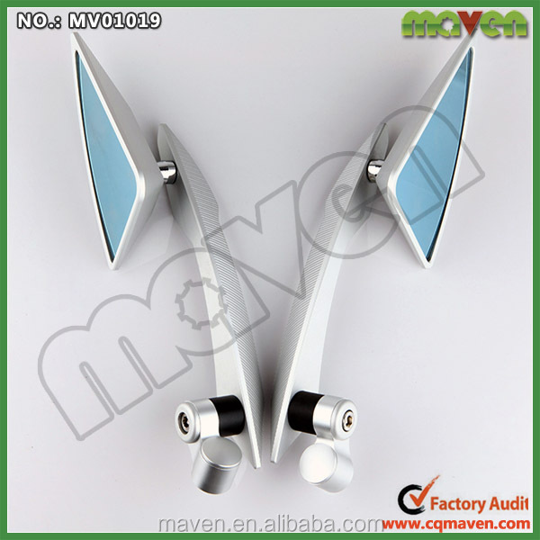 Maven Universal Custom Aluminium CNC ATV Mirror For Yamaha RX 100 135 RX115 Motorcycle Parts MV01019