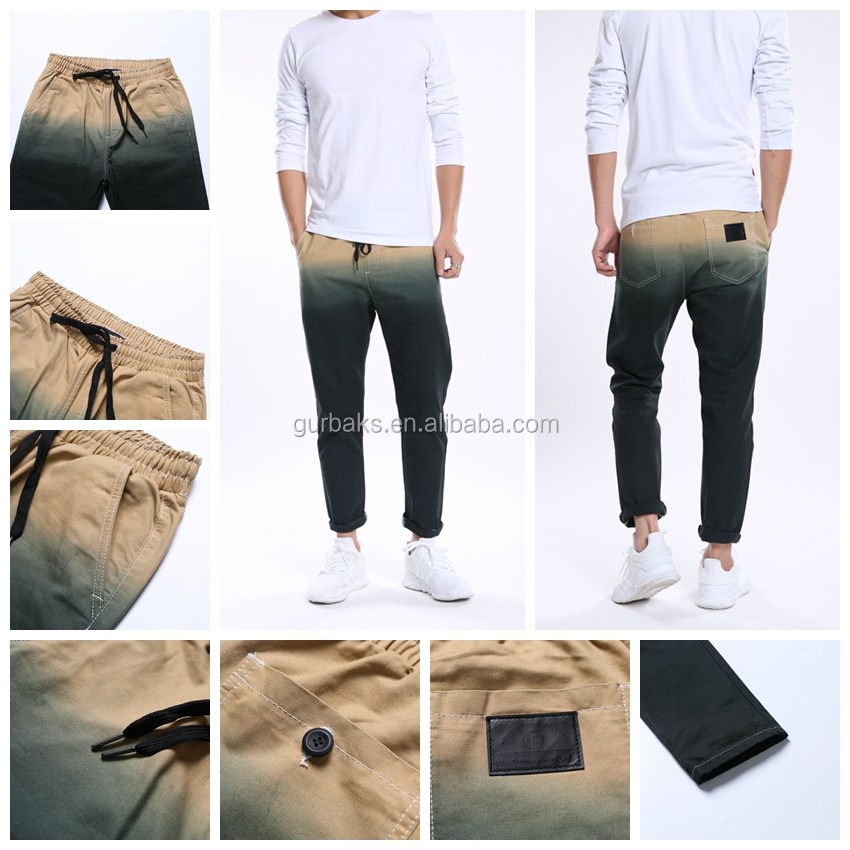 Factory Directly Provide Fashion Gradient Wholesale Trousers/Pants