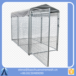 stainless steel dog cage/ dog kennel/ dog crates Manufacturers