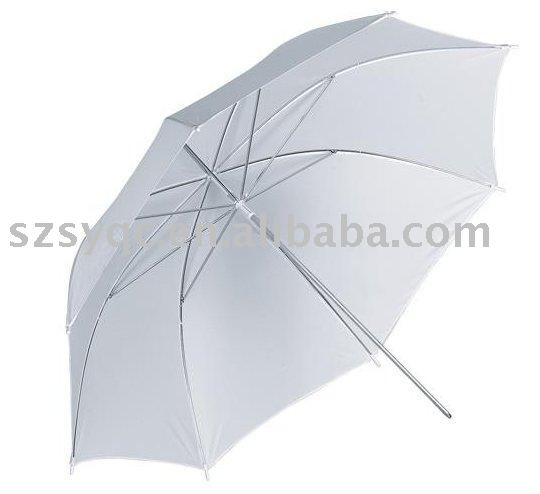 "White Soft Umbrella 41""/umbrella diffuser"