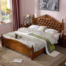 OEM orders acceptable serviceable new style wood double bed designs