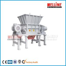 tire recycling single shaft shredder machine manufacturer with ISO certificate