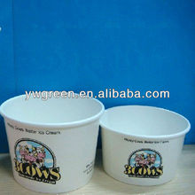 colorful paper food container with dome lid/disposable,fast food bowl with lid colorful paper food container
