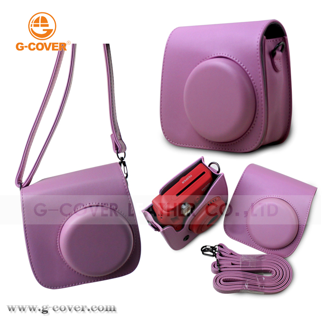Camera case for Fuji Instax Mini8, For Instax Mini 8 leather case