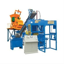 Small semi automatic brick making machine