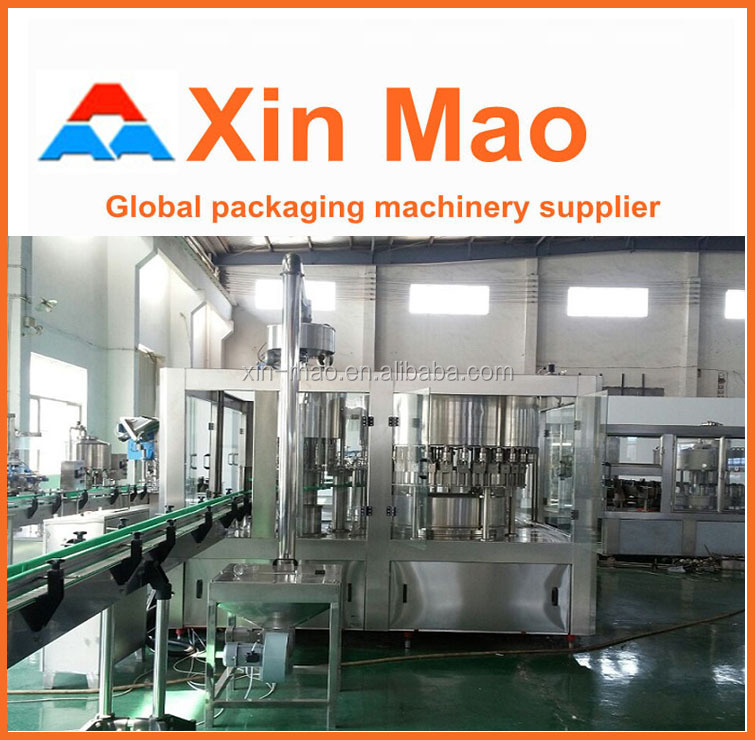 washing-filling-capping bottled water production water heater production line
