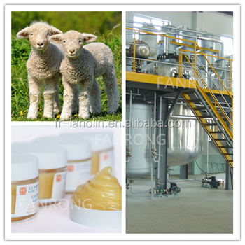 Pure Lanolin Anhydrous /Wool Fat / Pharmaceutical Grade Ultra USP 35 Grade for skin care material