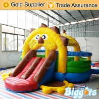 Free Shipping by Air Commercial Lion Small Inflatable Bouncer Jumper