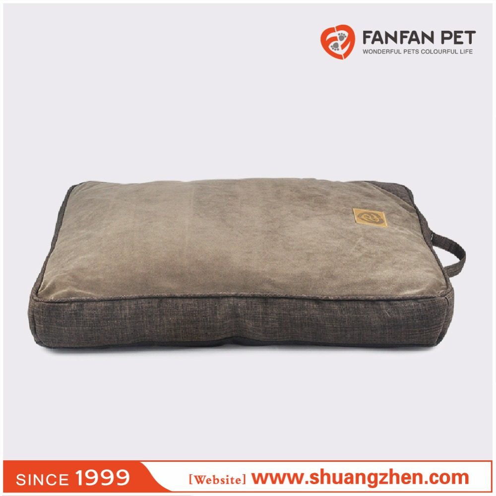 Platform matress easy-clean futon crate mat for pet dog and cat