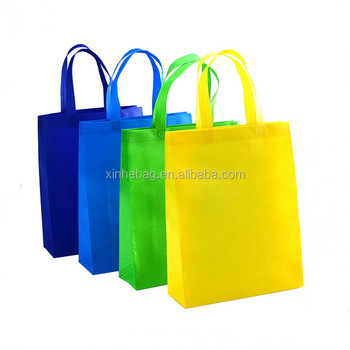 Custom wholesale candy colors ultrasonic heat sealed non woven bag/full-auto machine made tote shopping bag