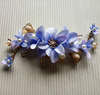 latest exquisite engagement hair accessory artificial flower fascinator