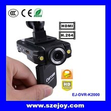 "Cheap car mini dv camera 1080P HD & motion detection & 2.0"" TFT LCD K2000 Carcam"