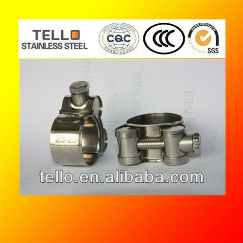 304 stainless steel constant tension hose clamps