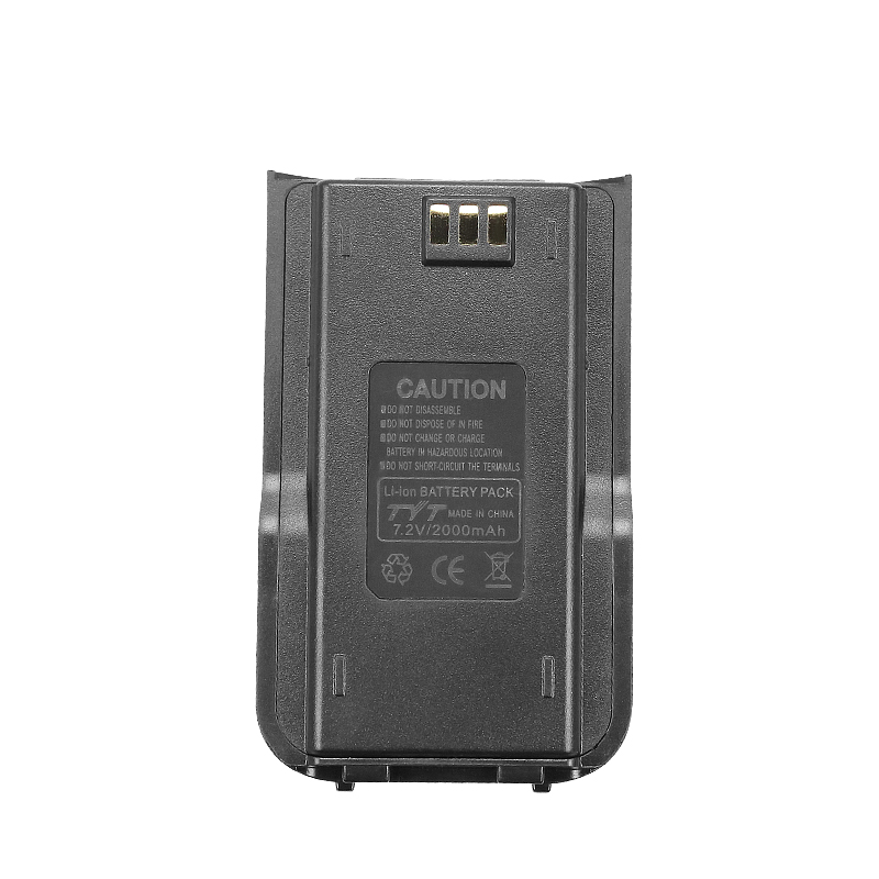 Long Battery 2000mah Walkie Talkie Li-ion Battery pack TYT MD-380 Two Way Radio Battery