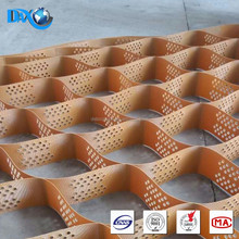 Beige color Best quality hdpe geocell for sale 15cm height for pavement