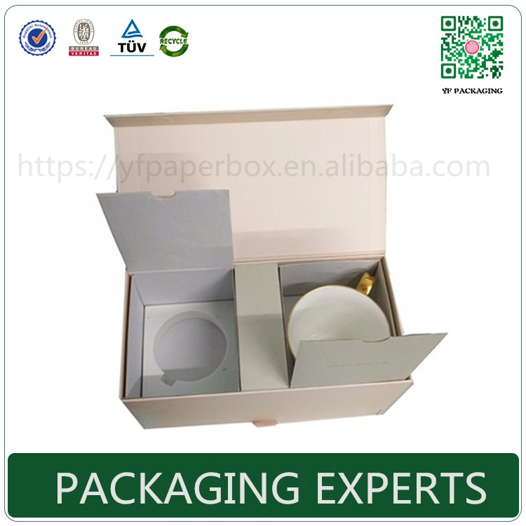 high quality storage packaging gift box for mug glasses