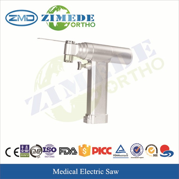 Electric bone saw surgical instruments