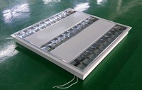 36W led grille light/ louver luminaire for shopping mall and office