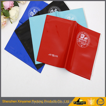 pvc book cover design , hard cover book print eco friendly soft pvc a4/a5/a6 plastic leather book cover protector manufacturer