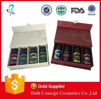 Aromatherapy diffuser portable essential oil set oem