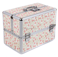 aluminum comestic storage box, professional beauty case