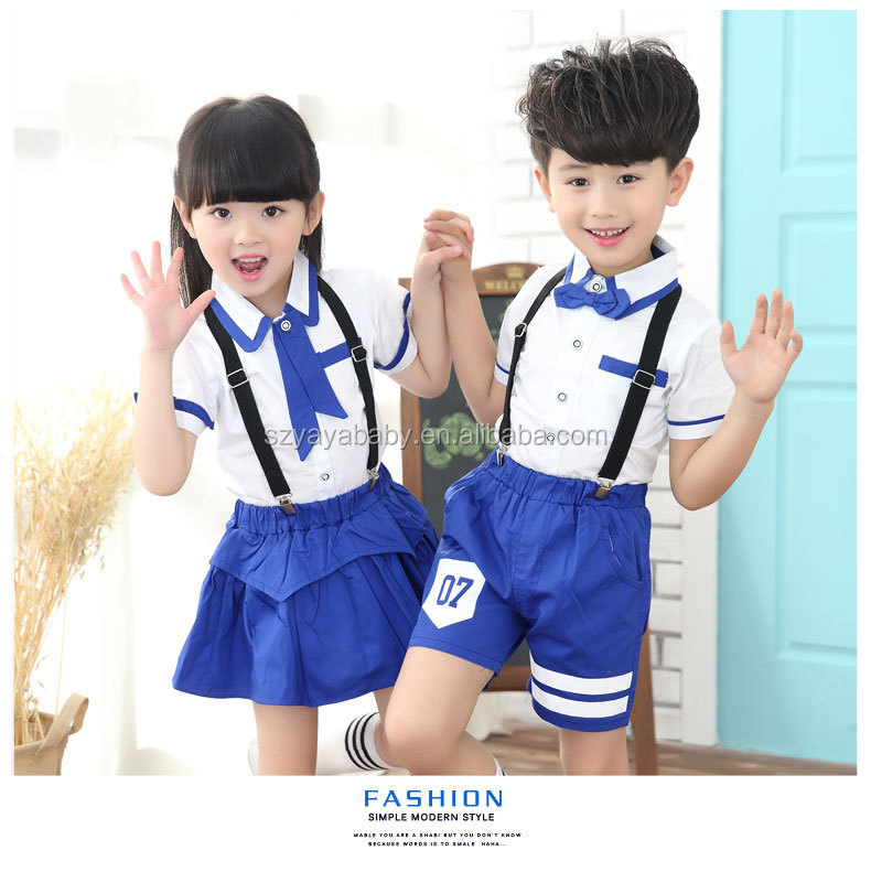 YY XF0709 kids custom-made school uniform