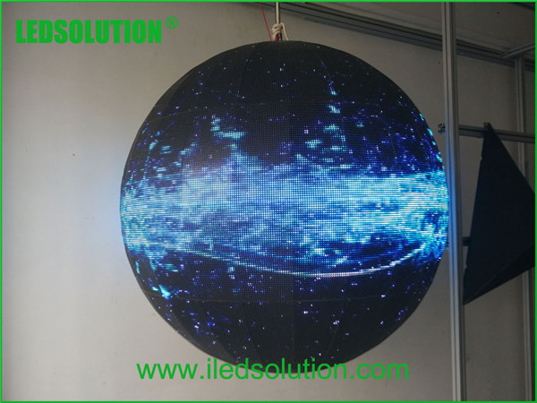 LED Sphere Display / LED Ball Video Display / 360 Degree LED Display