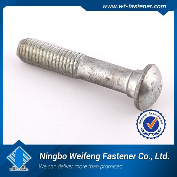 2015 Hot sales Made in Ningbo China Low Price stud bolt and hub nut