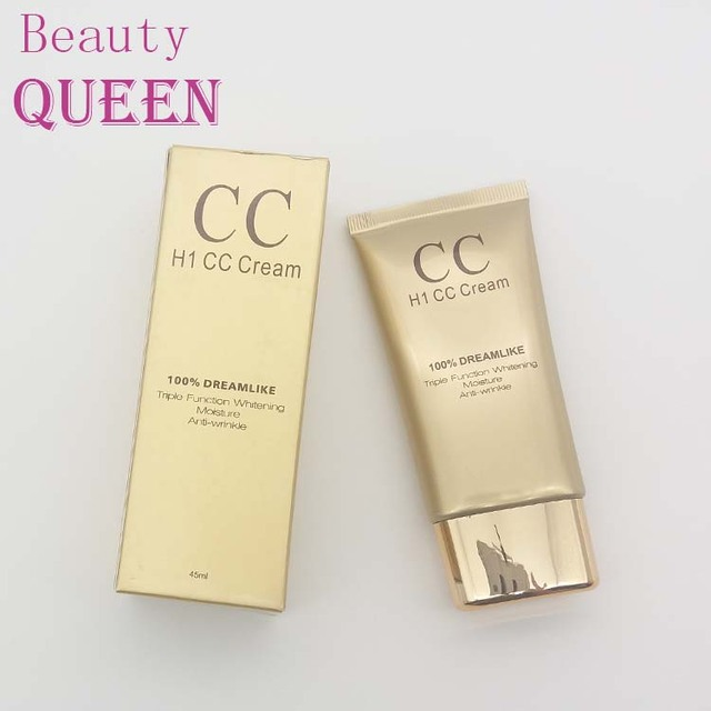 OEM Private Label Cosmetics Moisturizing Whitening Makeup Foundation Face CC Cream