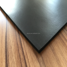 Oil resistant black punched rubber sheet buffering gasket rubber mat for prototype